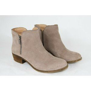 Lucky Brand Lk Bream Women's Leather Suede Ankle B